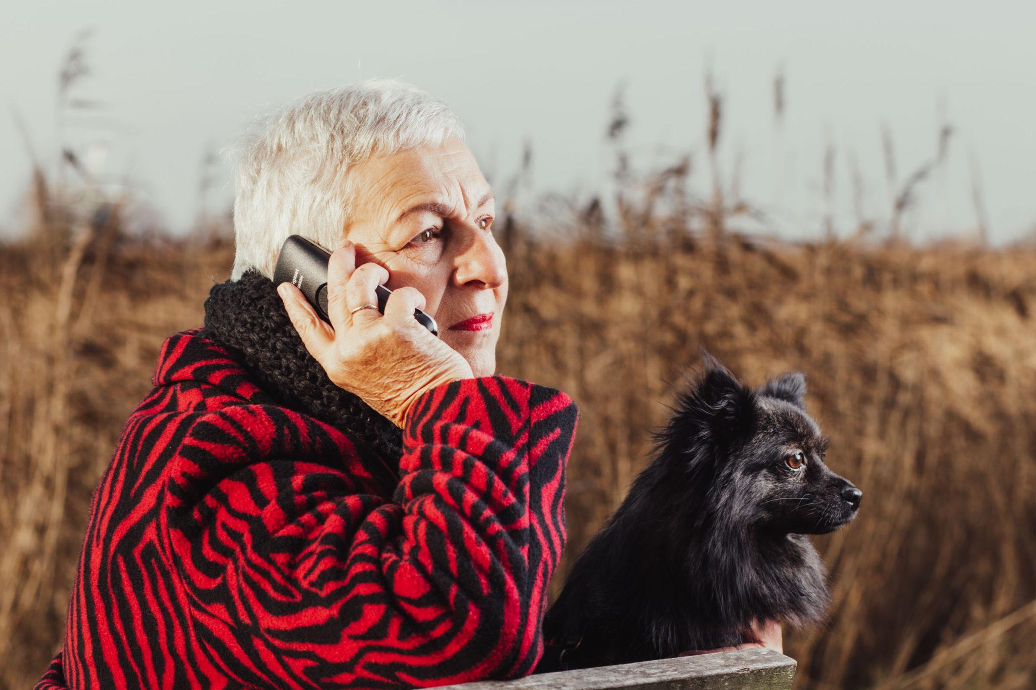 Portretfotografie vrijwilligers van De Luisterlijn